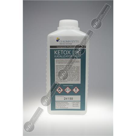 KETOX UTW. DO żywicy poliestr. 1kg ke-179