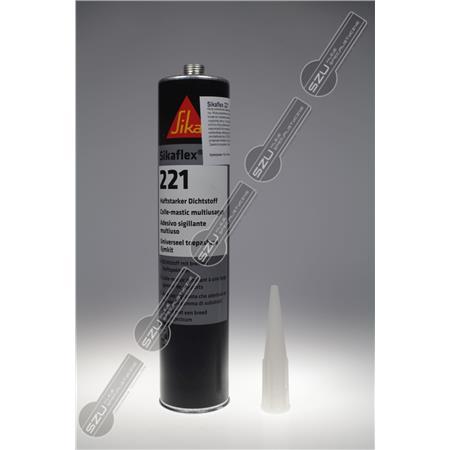 SIKAFLEX 221 BIAŁY 300 ML (370G)-1327