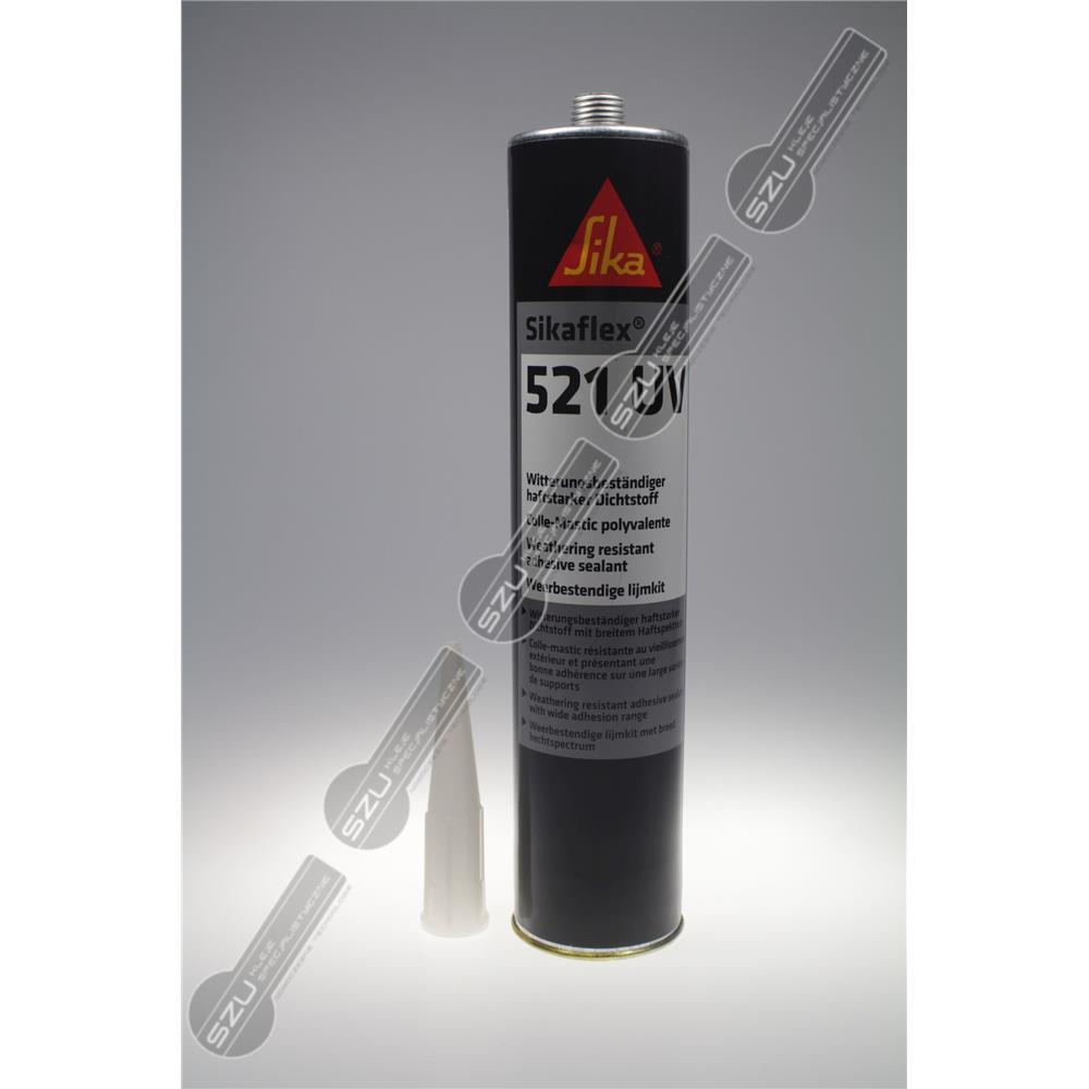 SIKAFLEX 521 UV BIAŁY 300ML(470G)-277