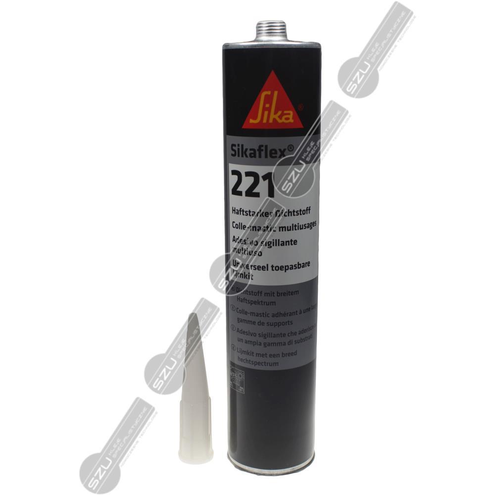 SIKAFLEX 221 BIAŁY 300 ML (370G)-1998