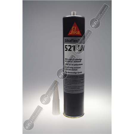 SIKAFLEX 521 UV CZARNY 300ML (470G)-276